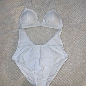 Sporty bathing suit one piece